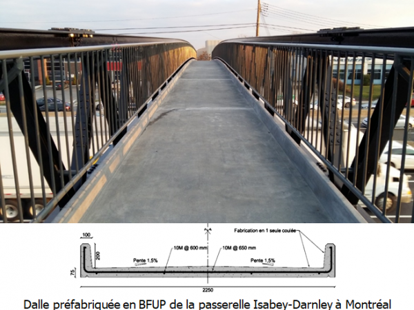 Photo Passerelle Isabey-Darnley avec BFUP